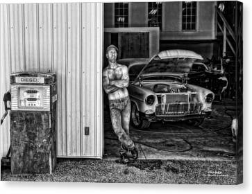 Body Shop Canvas Print by Dan Quam