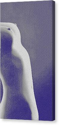 Body Waves 7 Canvas Print by Piety Dsilva