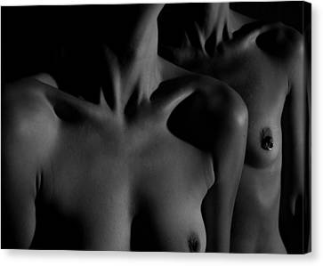 Bodyscape - 1 Canvas Print by S  J C
