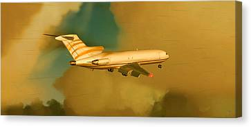 Boeing 727 - Cargo Canvas Print by Marcello Cicchini