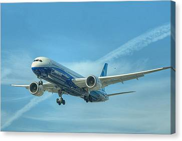 Boeing 787-9 Canvas Print by Jeff Cook