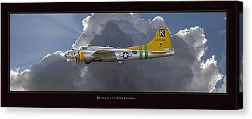 Boeing B-17 Canvas Print by Larry McManus