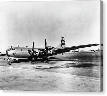 Boeing B-29 'enola Gay' Canvas Print by Us Department Of Energy