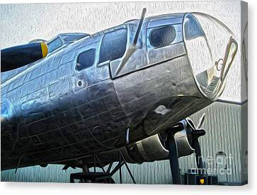 Boeing Flying Fortress B-17g  -  01 Canvas Print by Gregory Dyer