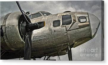 Boeing Flying Fortress B-17g  -  04 Canvas Print by Gregory Dyer