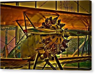 Boeing Model 100 II Canvas Print by David Patterson