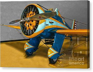 Boeing Peashooter P-26a  -  02 Canvas Print by Gregory Dyer