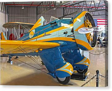 Boeing Peashooter P-26a  -  03 Canvas Print by Gregory Dyer