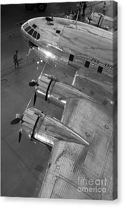 Boeing's Flying Cloud - Monochrome Canvas Print by ELDavis Photography