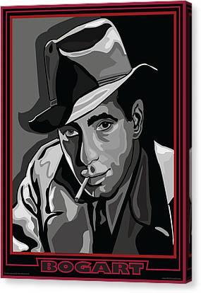 Bogart Canvas Print by Larry Butterworth