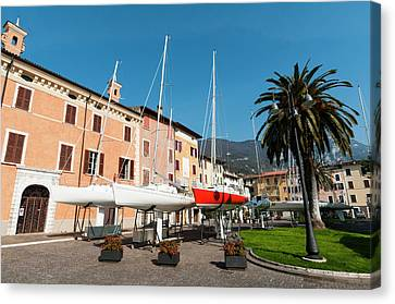Bogliaco, Lago Di Garda, Lombardia Canvas Print by Sergio Pitamitz
