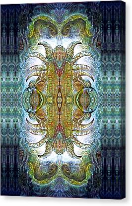 Bogomil Variation 14 - Otto Rapp And Michael Wolik Canvas Print by Otto Rapp