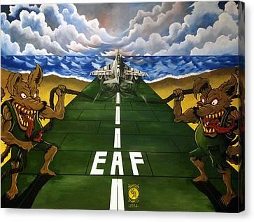 Prowler Canvas Print - Bogue Rats by Richard Bantigue