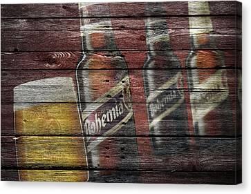 Bohemia Beer Canvas Print by Joe Hamilton