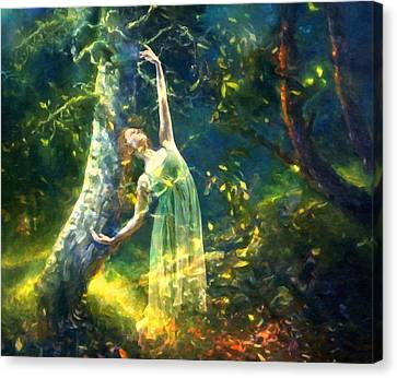 Bohemian Dancer Fantasy Canvas Print
