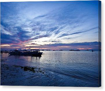 Bohol Sunrise Canvas Print