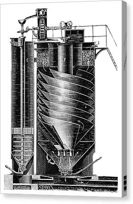 Boiler Water Purification Canvas Print by Science Photo Library