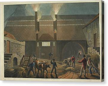 Boiling-house Canvas Print by British Library