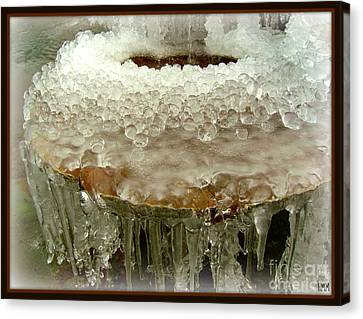 Boiling Ice Canvas Print