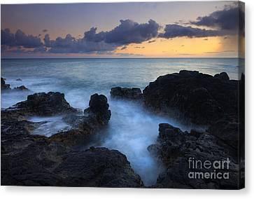 Boiling Sea Canvas Print by Mike  Dawson