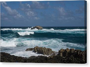 Boiling The Ocean At Laie Point - North Shore - Oahu - Hawaii Canvas Print