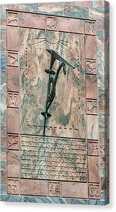 Bok Tower Sundial Canvas Print