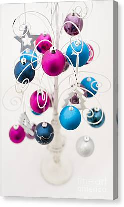 Bold Baubles Canvas Print by Anne Gilbert