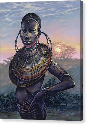 Bold Canvas Print by Dennis Goff