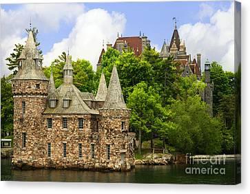 Boldt Castle Canvas Print