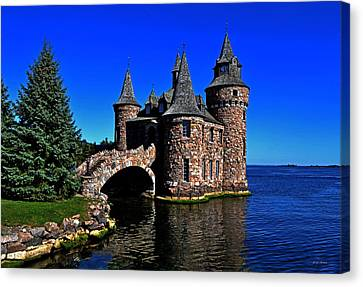 Boldt Castle - Power House 001 Canvas Print by George Bostian