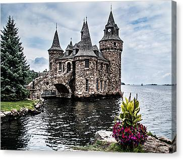 Boldt's Castle Tower Canvas Print by Debbie Green