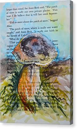 Boletus Edulis Canvas Print by Beverley Harper Tinsley