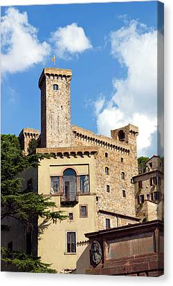 Bolsena Castle (rocca Monaldeschi Canvas Print