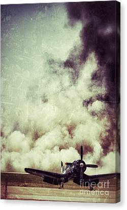 Bomb Run Canvas Print