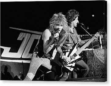 Bon Jovi '85 Canvas Print by Chris Deutsch