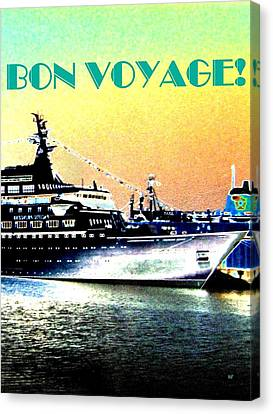 Bon Voyage Canvas Print by Will Borden