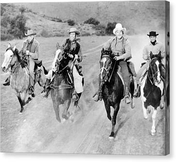 Bonanza  Canvas Print by Silver Screen