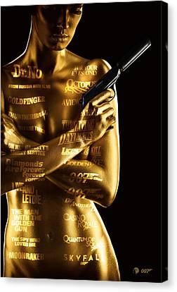 Bond 50 Canvas Print by Patrick Charbonneau