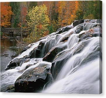 Bond Falls Upper Peninsula Michigan Canvas Print