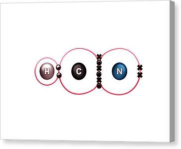 Bonding Canvas Print - Bond Formation by Animate4.com/science Photo Libary