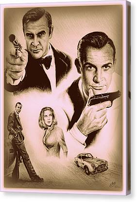 Bond The Golden Years Canvas Print by Andrew Read