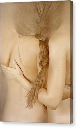 Hairstyle Canvas Print - Bonded by Olga Mest