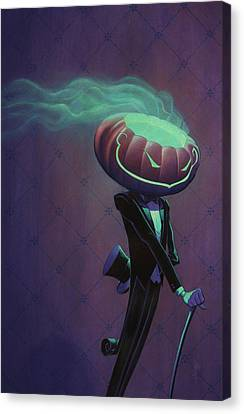 Mister Jack Canvas Print by Richard Moore