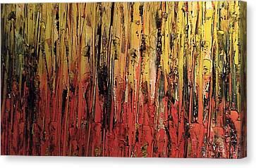 Bonfire Canvas Print by Lisa Williams