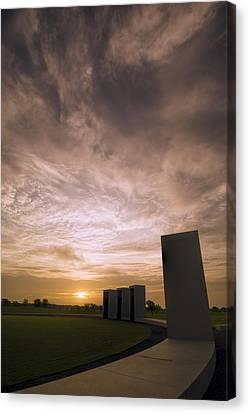 Portal Canvas Print - Bonfire Memorial by Joan Carroll
