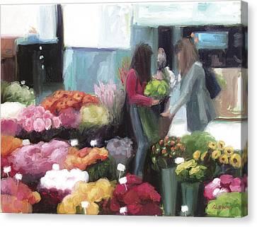 Bonn In Bloom Canvas Print
