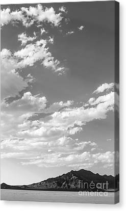 Bonneville Salt Flats Canvas Print