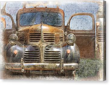 Bonnie And Clyde Canvas Print by Debra and Dave Vanderlaan