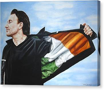 Bono Flag Canvas Print by Mark Baker