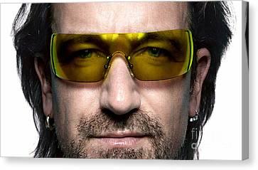 Bono Canvas Print - Bono  by Marvin Blaine